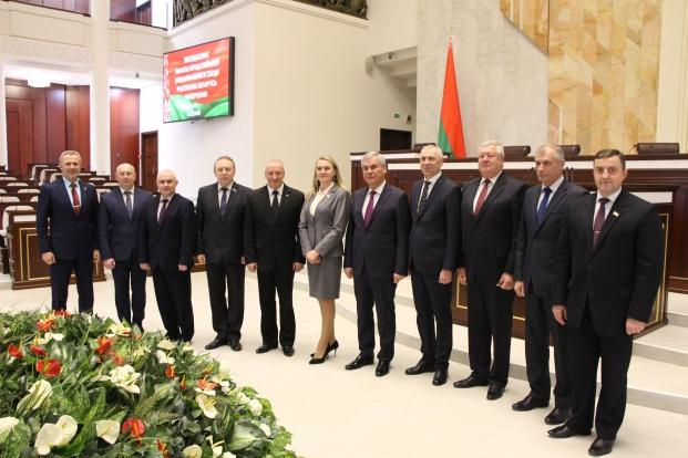 Руководство Палаты представителей с депутатами Постоянной комиссии по национальной безопасности